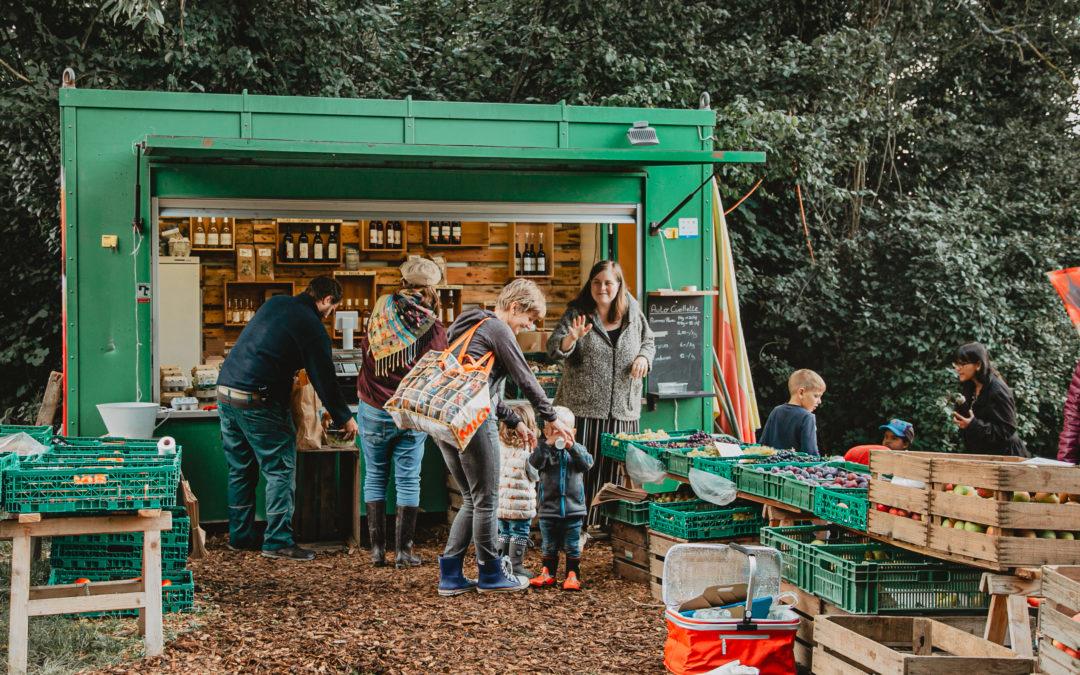 Le kiosque à fruits